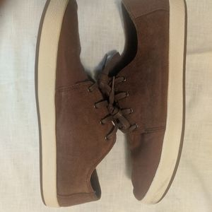 Men's Toms casual brown suede canvas sneaker